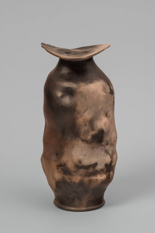 Marim Zipursky  smoke fired vase