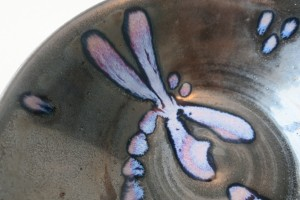 Dragonfly Bowl detail