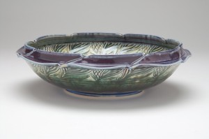 Blue Green Large Bowl