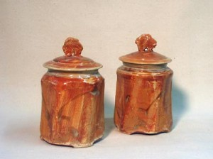 Two Storage Jars
