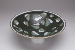 Dark Forest Pedestal Bowl