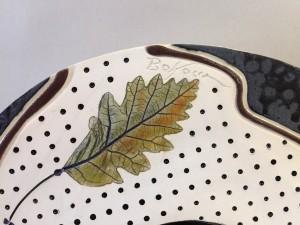 Oak Spirit Bowl detail