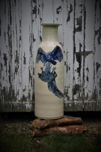 Painted vase 1