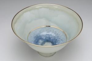 Celadon pedestal bowl